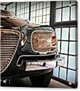 Alfa Romeo In Black Acrylic Print