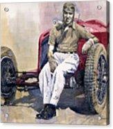 Alfa Romeo Monza Tazio Nuvolari 1932 Acrylic Print