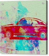 Alfa Romeo  Watercolor 2 Acrylic Print