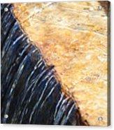 Alfred Caldwell Lily Pool Waterfall Acrylic Print