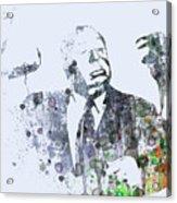 Alfred Hitchcock Birds Acrylic Print by Naxart Studio