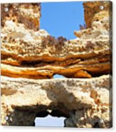 Algarve Rock Tunnel Acrylic Print