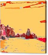 Algarve Sunrise Acrylic Print
