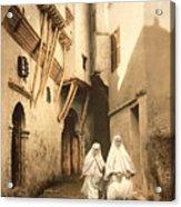 Algeria: Street Scene, C1899 Acrylic Print
