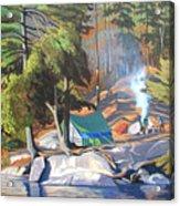 Algonquin Campsite Acrylic Print