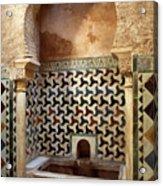 Alhambra Palace Baths Acrylic Print