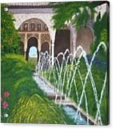 Alhambra Palace Acrylic Print