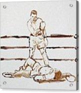 Ali Knockout Acrylic Print