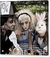 Alice And Friends 2 Acrylic Print