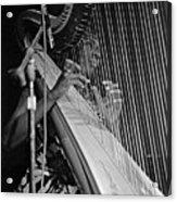 Alice Coltrane On Harp Acrylic Print