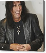 Alice Cooper Happy Acrylic Print