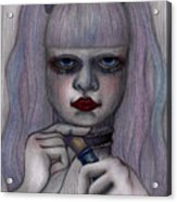 Alice In Another World Acrylic Print