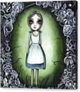 Alice In The Deadly Garden Acrylic Print