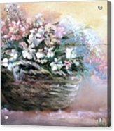 Alice's Bouquet Acrylic Print