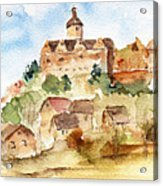 Alice's Castle Acrylic Print