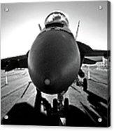 Alien Aircraft Acrylic Print