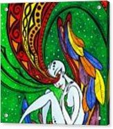 Alien Angel Acrylic Print