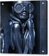 Alien Baby By Giger Acrylic Print
