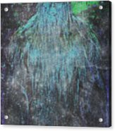 Alien Bigfoot Acrylic Print