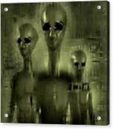 Alien Brothers Acrylic Print