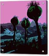 Alien Eden Acrylic Print