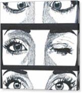 Alien Eyes Acrylic Print