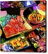 Alien Food Delicacies Acrylic Print