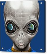 Alien From Space Acrylic Print