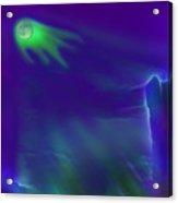Alien Ghost Moon Acrylic Print