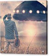 Alien Invasion Acrylic Print