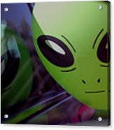 Alien Is Closer Than He Appears Acrylic Print
