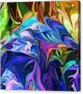 Alien Jungle Flora Acrylic Print