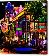 Alien Night Out Acrylic Print