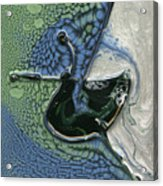 Alien Ocean Sigil Acrylic Print