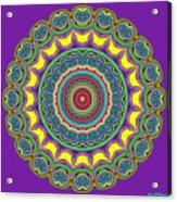 Alien Prayer Circle Acrylic Print