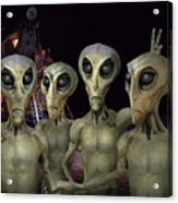 Alien Vacation - Kennedy Space Center Acrylic Print