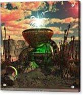 Alien World 2 Acrylic Print by Jim Coe