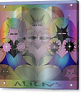 Aliens Acrylic Print