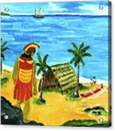 Alihi Hawaiian For Chief #57 Acrylic Print