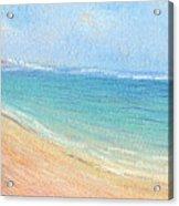 Aliomanu Beach Acrylic Print