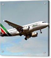 Alitalia Airbus A319-112 Acrylic Print