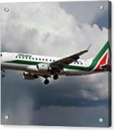 Alitalia Embraer Erj-175std Acrylic Print
