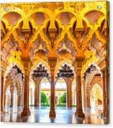 Aljaferia Stadpalast, Saragossa, Spain Acrylic Print