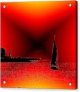 Alki Sail 2 Acrylic Print