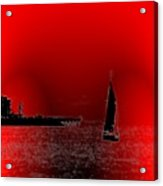 Alki Sail 4 Acrylic Print