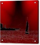 Alki Sail 5 Acrylic Print