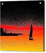 Alki Sail  Acrylic Print