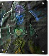 All 7 Shakras Acrylic Print