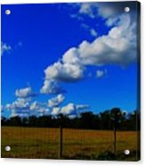 All About Clouds Acrylic Print