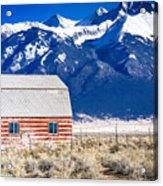 All American Barn Acrylic Print